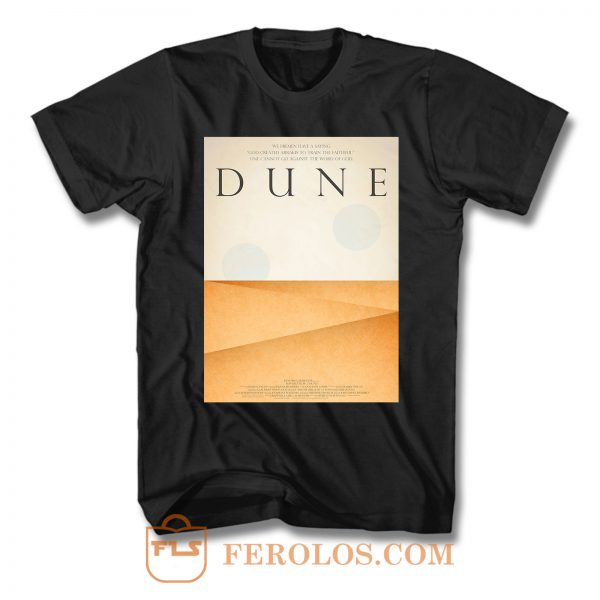 Dune Word Of God T Shirt
