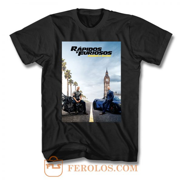 Fast And Furious 5 T Shirt