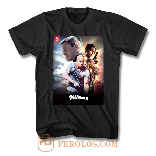 Fast And Furious 9 Characters T Shirt