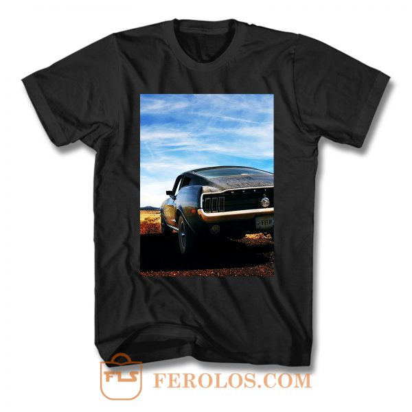 Fast And Furious Cover Movie T Shirt