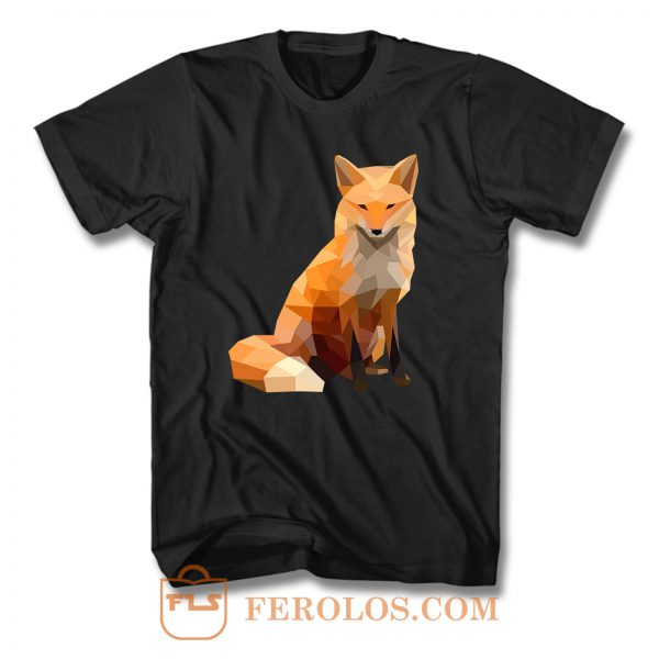Fox Low Poly T Shirt