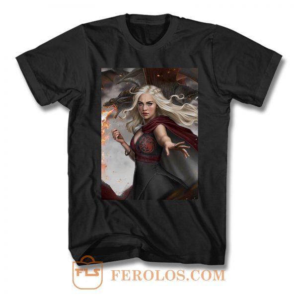 Game Of Thrones Daenerys Targaryen 2 T Shirt