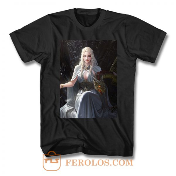 Game Of Thrones Daenerys Targaryen 3 T Shirt
