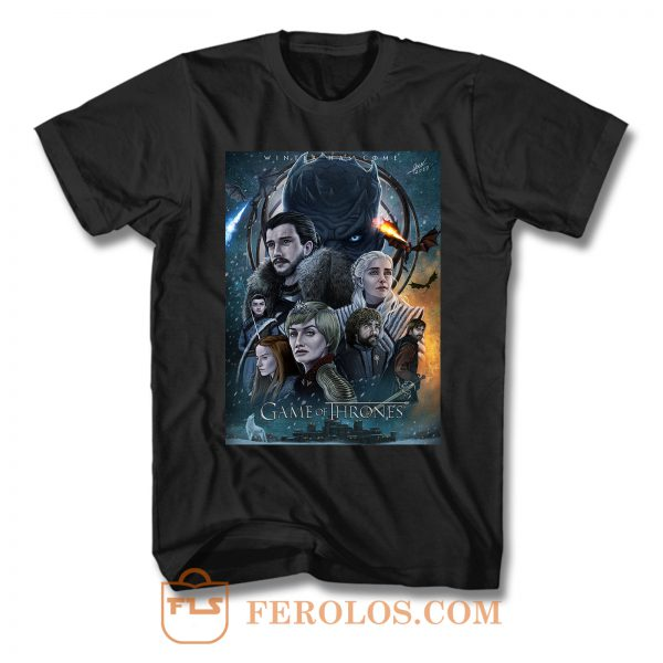 Game Of Thrones Final T Shirt