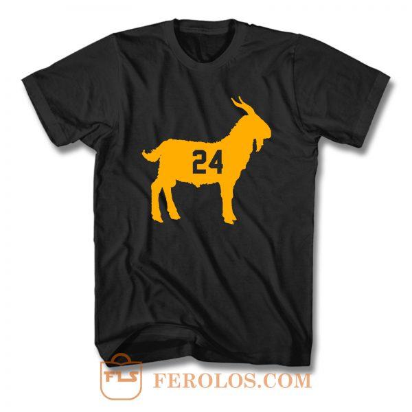 Goat Kobe Bryant 24 T Shirt