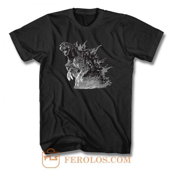 Godzilla King Of The Monster T Shirt