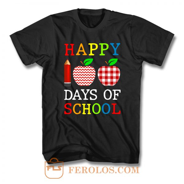 Happy 100th Day Of School T Shirt