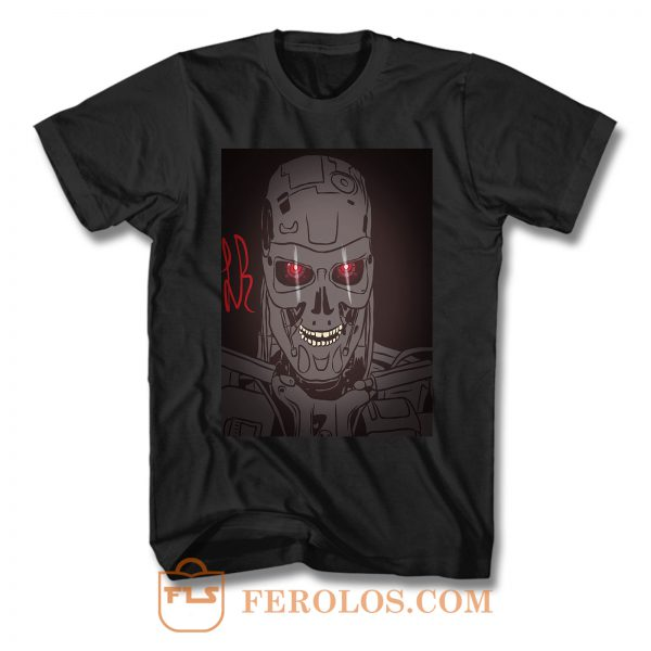 I Really Hope Terminator T Shirt