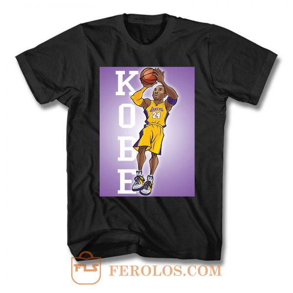 Illustration Kobe Bryant Comic T Shirt