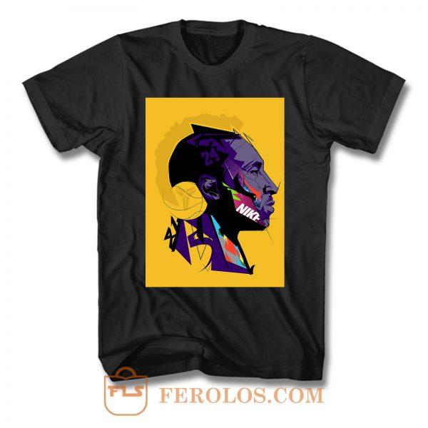 Illustration Kobe Bryant T Shirt