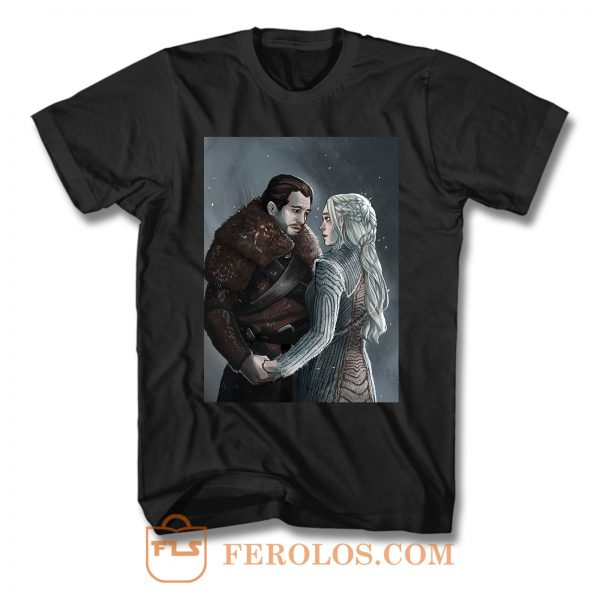 Jon Snow And Daenerys Targaryen T Shirt