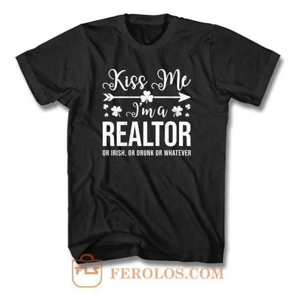 Kiss Me Im A Realtor T Shirt