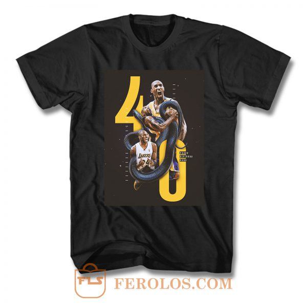 Kobe 40th Birthday T Shirt