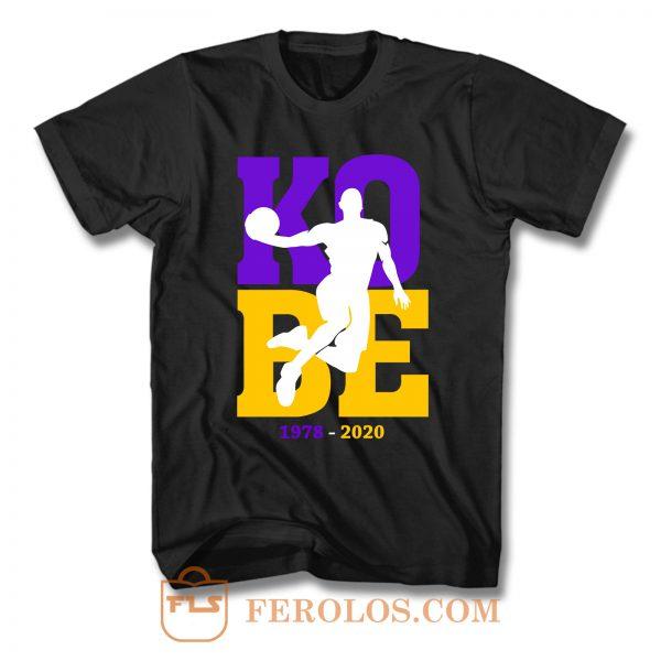 Kobe Bryant 1978 2020 T Shirt