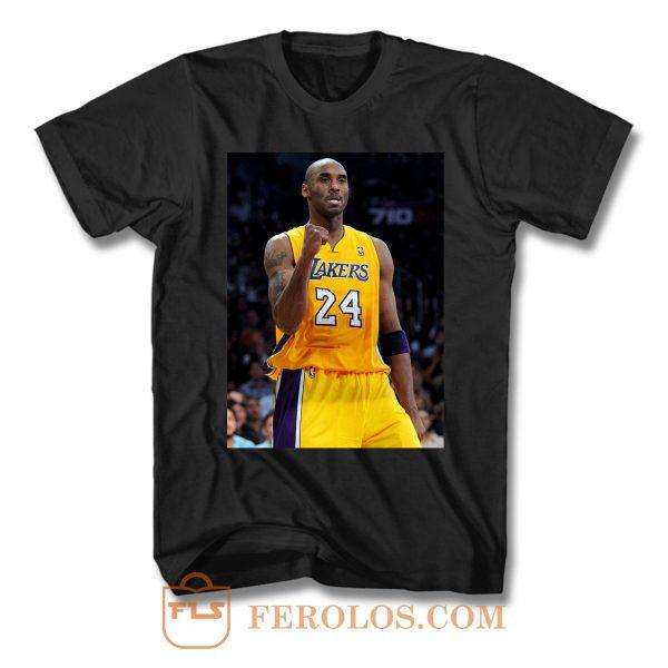 Kobe Bryant 24 Los Angeles Lakers T Shirt