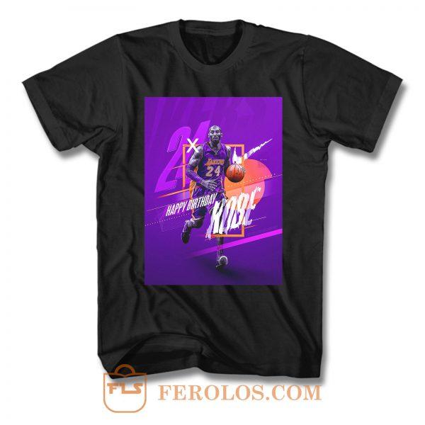 Kobe Bryant 24 T Shirt