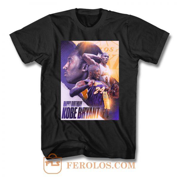 Kobe Bryant 40th T Shirt
