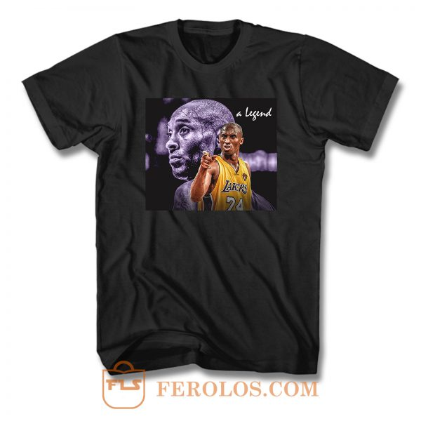 Kobe Bryant A Legend T Shirt