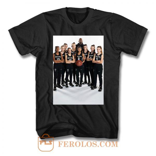 Kobe Bryant And His Daughters T Shirt