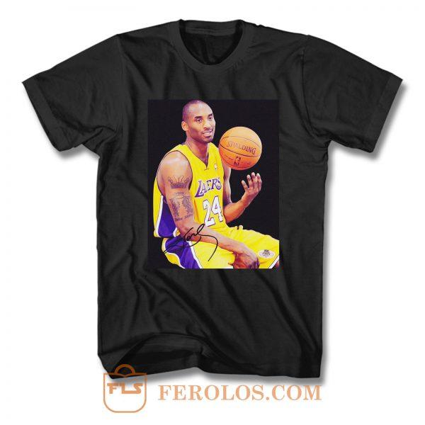 Kobe Bryant Autograph T Shirt