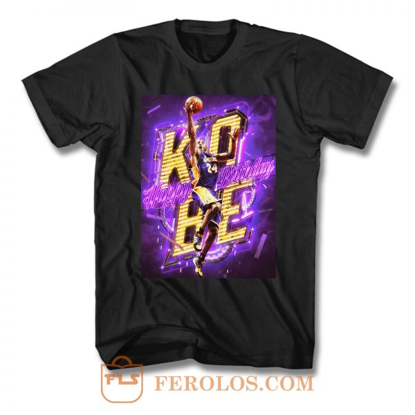 Kobe Bryant Birthday T Shirt