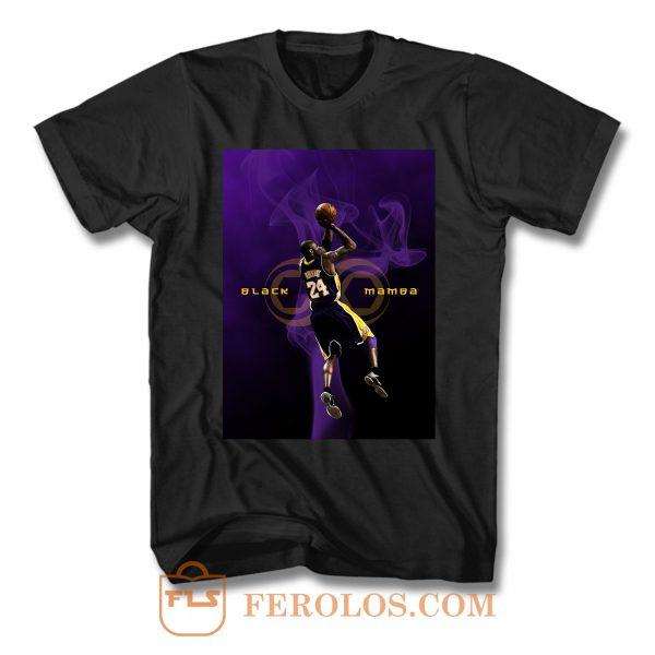 Kobe Bryant Black Mamba T Shirt