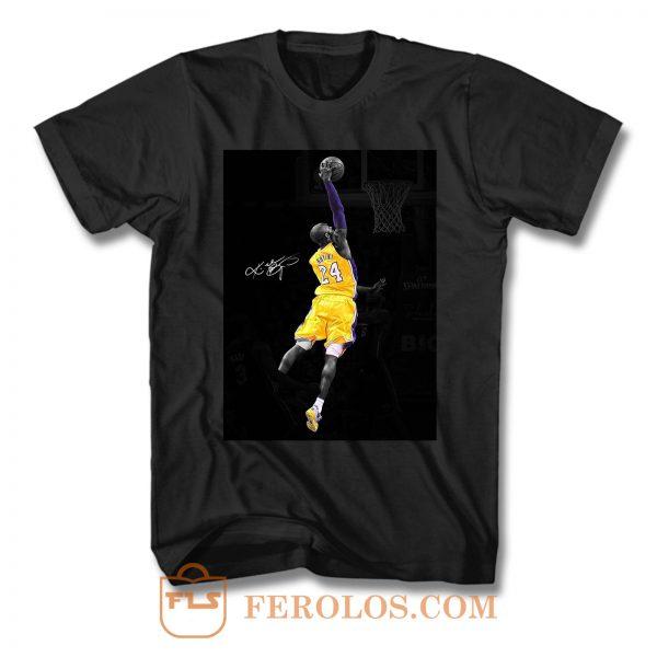 Kobe Bryant Dunk T Shirt