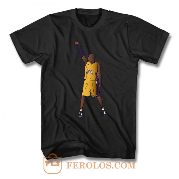 Kobe Bryant Hold It Los Angeles Lakers T Shirt