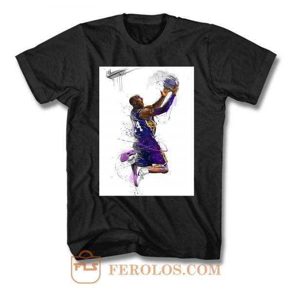 Kobe Bryant Jump Shot T Shirt