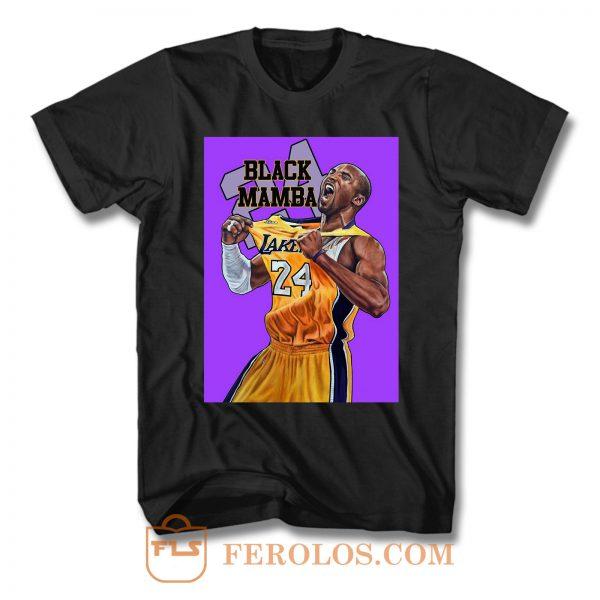 Kobe Bryant Mamba 24 T Shirt