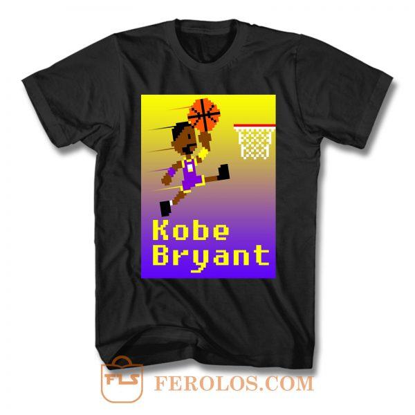 Kobe Bryant Pixel T Shirt