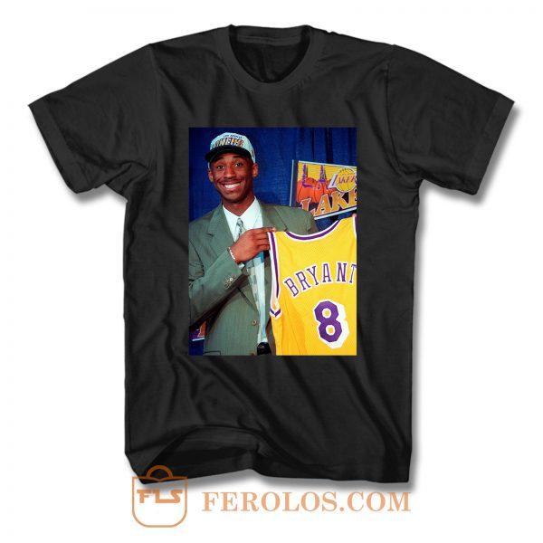Kobe Bryant Rip Legend Basketball 1996 T Shirt
