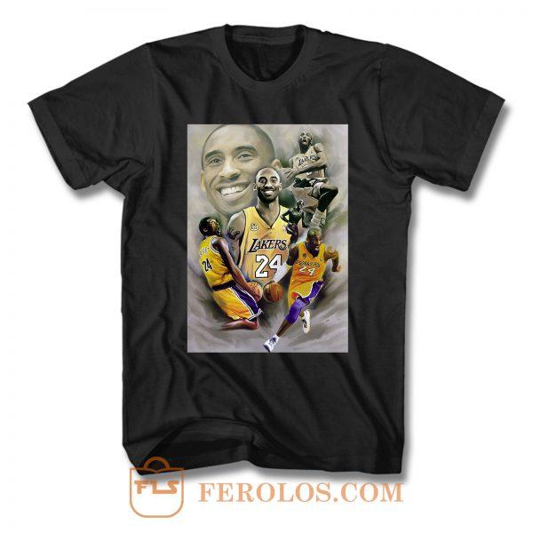 Kobe Bryant World Class Basket Balll Legend T Shirt