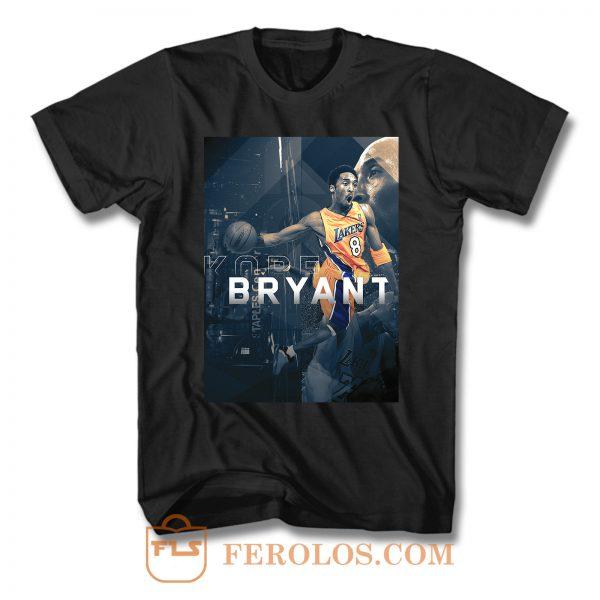 Kobe La Lakers Black Mamba T Shirt