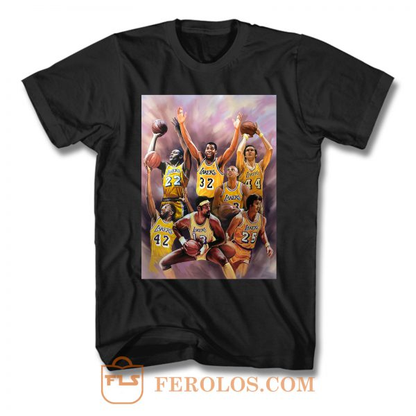 La Laker Legends T Shirt