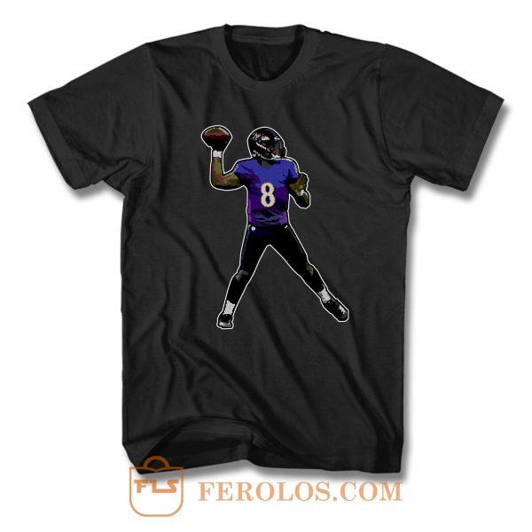 Lamar Jackson T Shirt