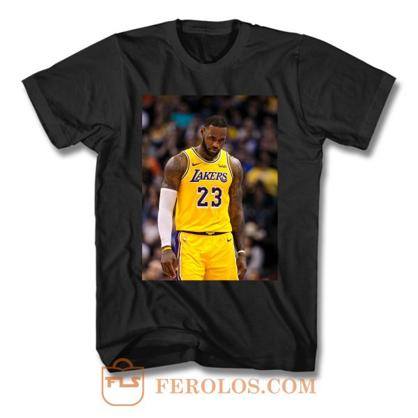 Lebron James And The Lakers T Shirt
