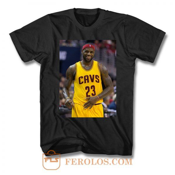 Lebron James Cleveland Cavaliers T Shirt