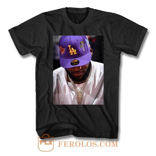 Lebron James Lakers Hat T Shirt