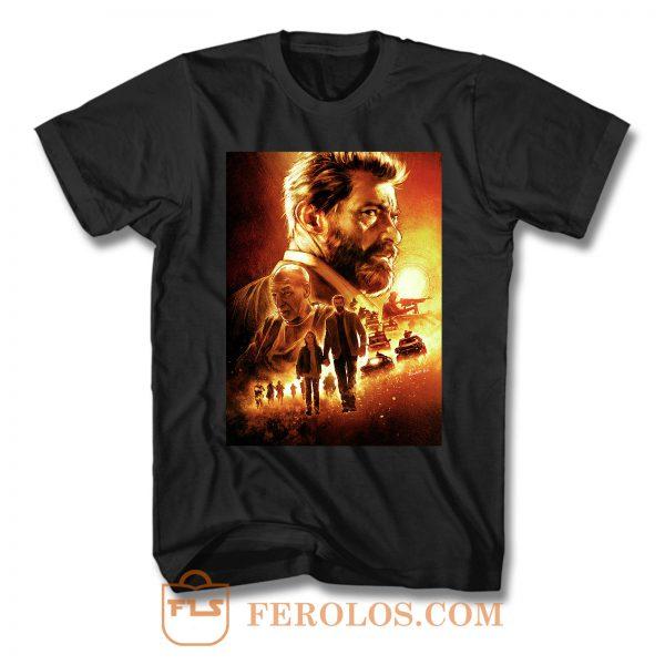 Logan Cover Movie T Shirt