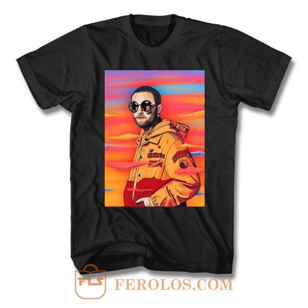 Mac Miller Album Cover Painting T Shirt