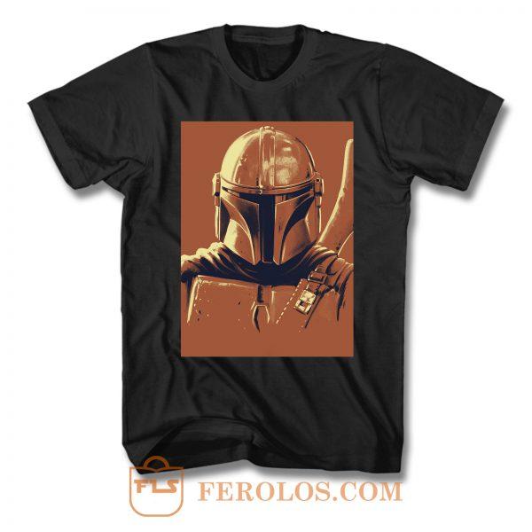 Mandalorian 4 T Shirt