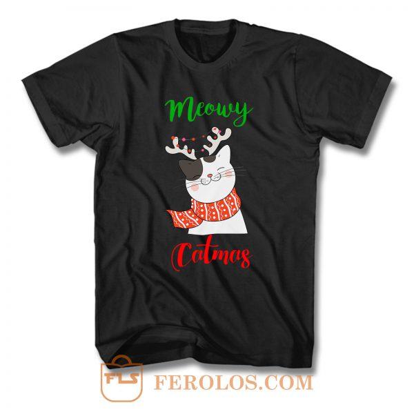 Meowy Catmas T Shirt