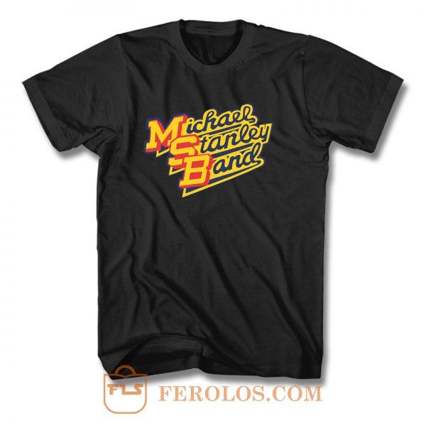 Michael Stanley Band MSB Vintage Retro T Shirt
