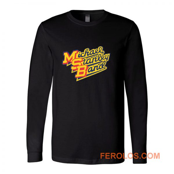 Michael Stanley Band MSB Vintage Retro Long Sleeve