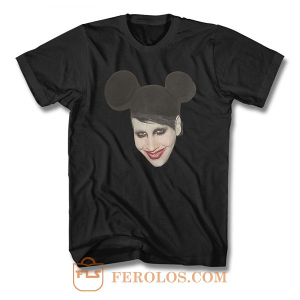 Mickey Marilyn Manson Punk T Shirt