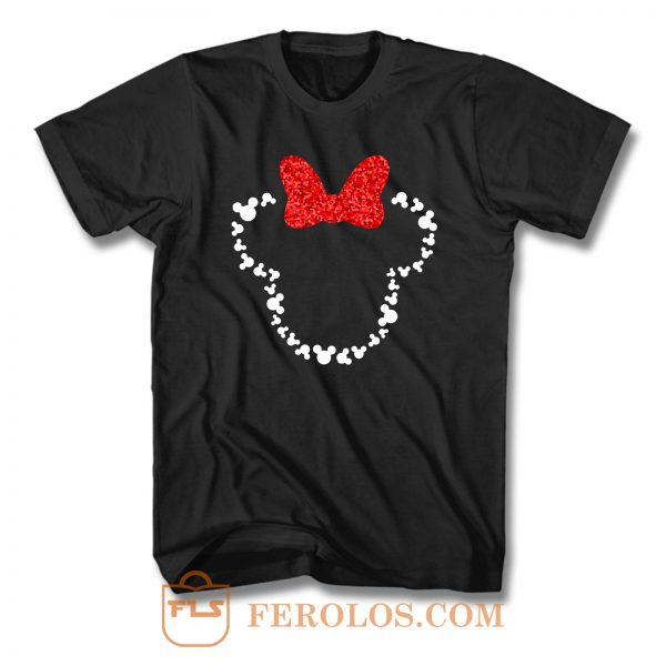 Minnie Mouse Art T Shirt