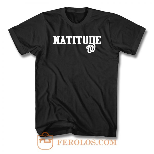 Natitude Washington Nationals Sports Team T Shirt