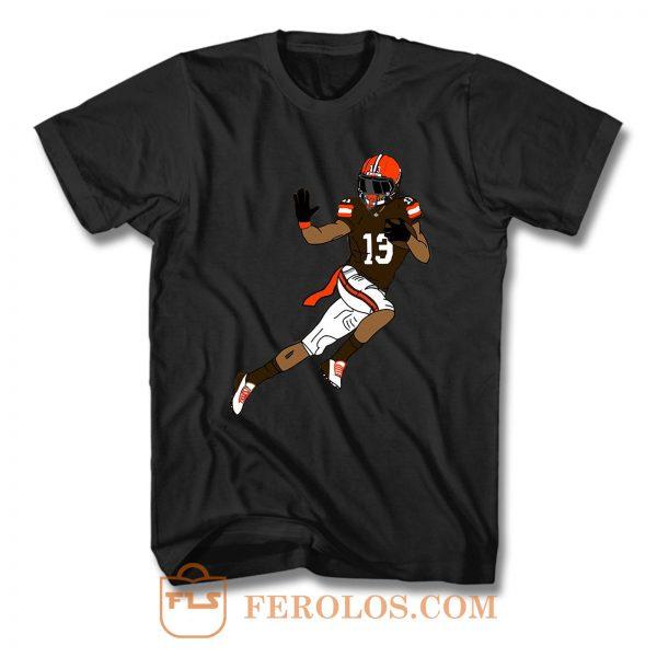 Odell Beckham Cleveland Browns T Shirt