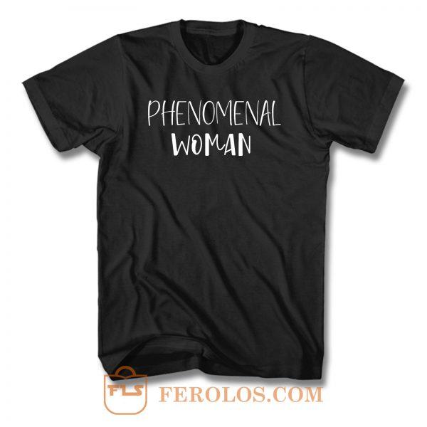 Phenomenal Woman T Shirt